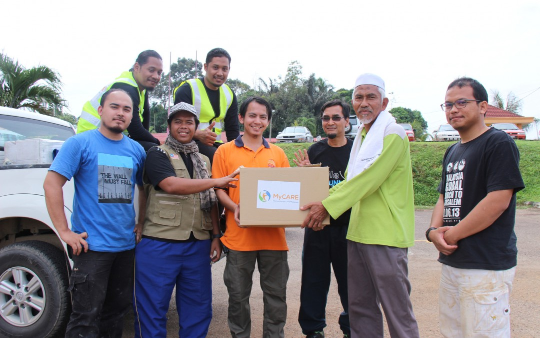 NICE : Flood Relief in Malaysia