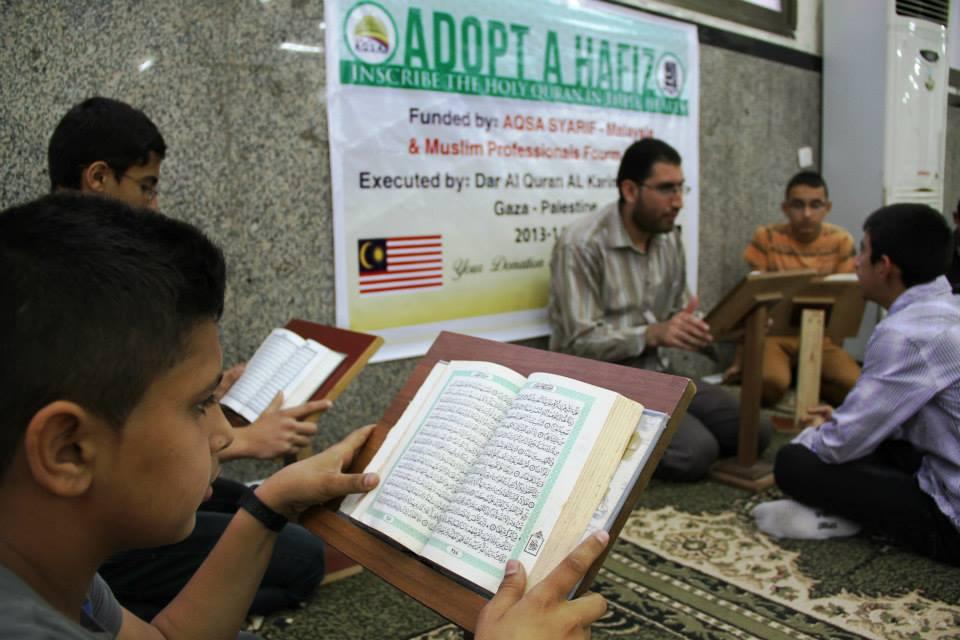 Aqsa Syarif : Adopt a Hafiz