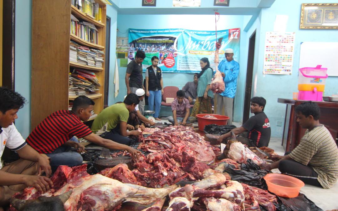Program Qurban Kasih Ummah – Pusat Pendidikan Muhajirin Muslim, Ampang