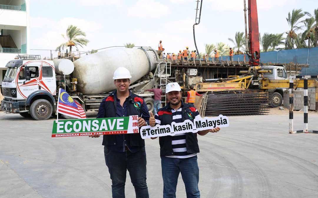 Progres pembinaan semula Sekolah al-Solah & Siti Khadijah