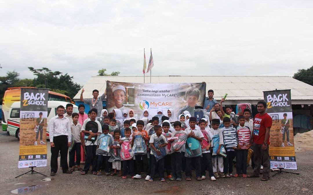 Back2School untuk Rohingya