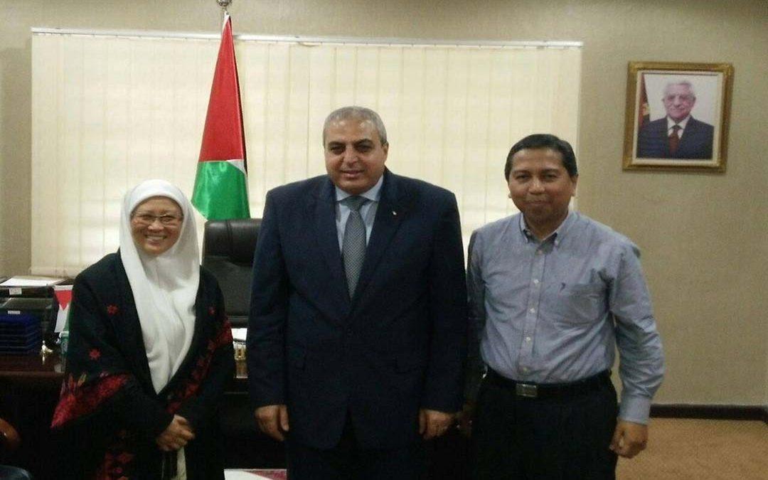 Kunjungan ke Kedutaan Palestin