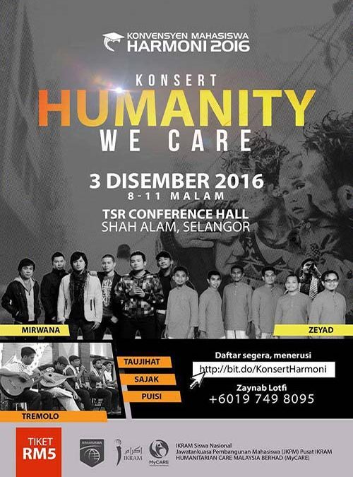 Humanity Concert: We Care