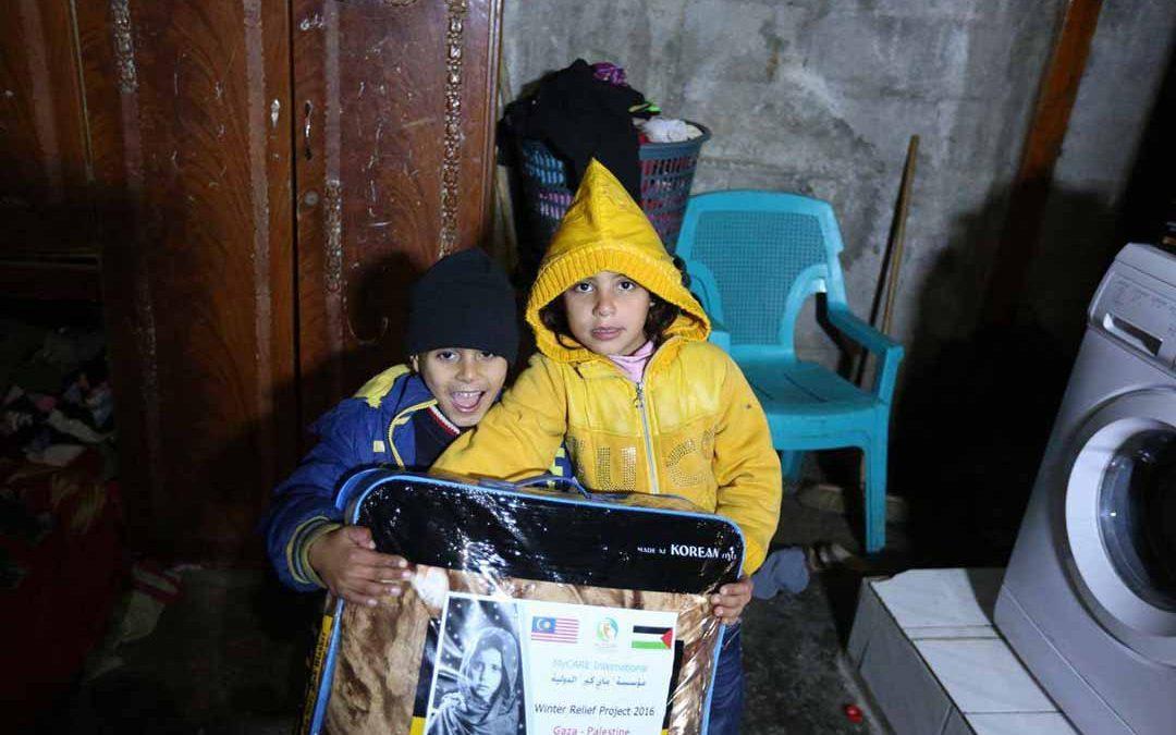 Agihan sumbangan Winter Relief 2016 fasa pertama