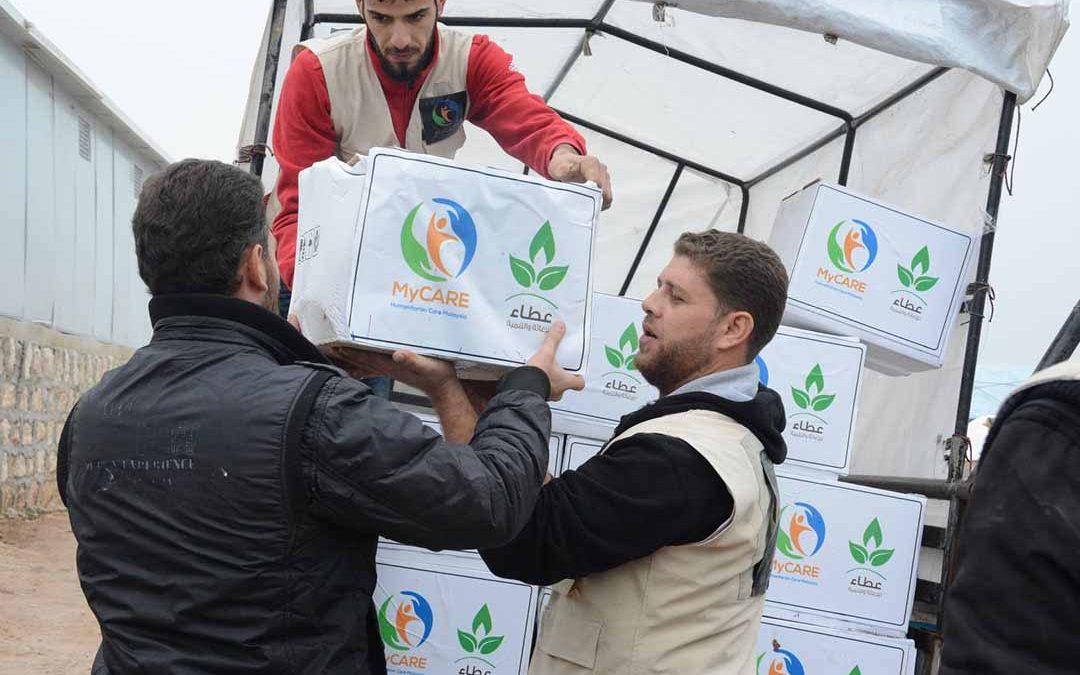 Bantuan awal bernilai RM500,000 disalurkan ke kem pelarian Aleppo