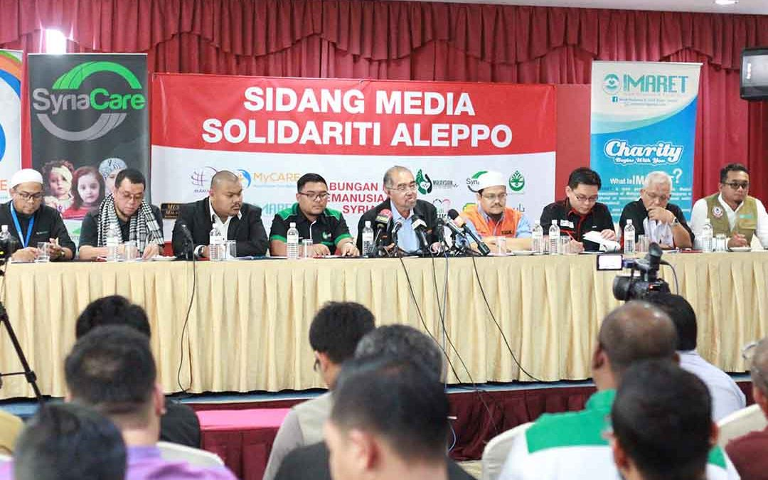 Sidang Media Solidariti Aleppo