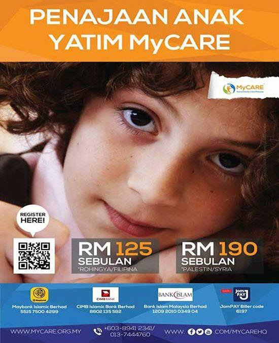 Penajaan Anak Yatim MyCARE