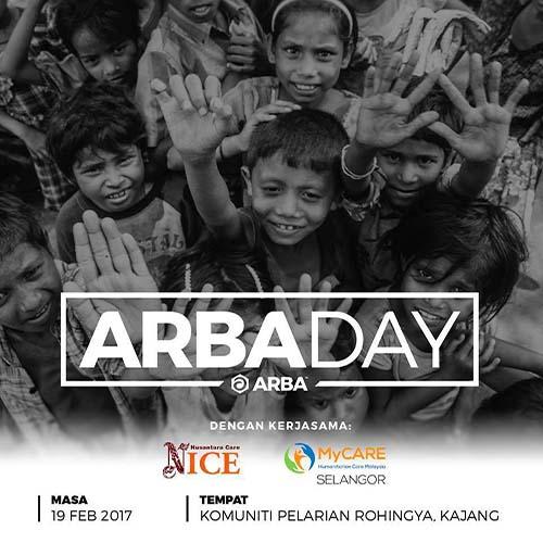 ARBA Day bersama komuniti Rohingya di Malaysia