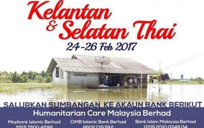 Misi Bantuan Bencana Banjir Kelantan & Selatan Thai