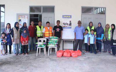 Misi Bantuan Banjir MyCARE di Johor