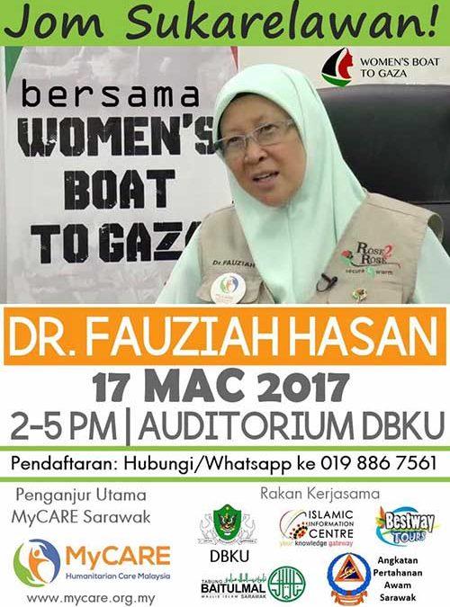 Perkongsian Dr. Fauziah di Sarawak