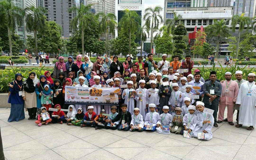 Lawatan sambil belajar anak yatim Rohingya ke Petrosains