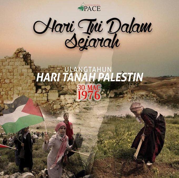 Hari Ini Dalam Sejarah | 30 Mac 1976 | Hari Tanah Palestin (Yaumul Al-Ard/The Land Day)