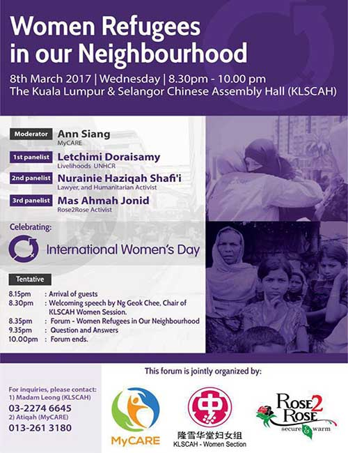 Women Refugees in our Neighbourhood