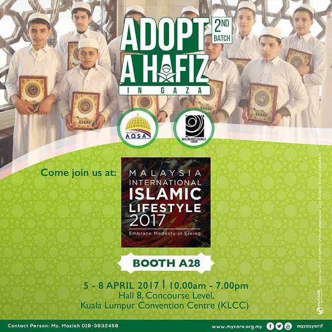 Temui Adopt a Hafiz di MILE2017