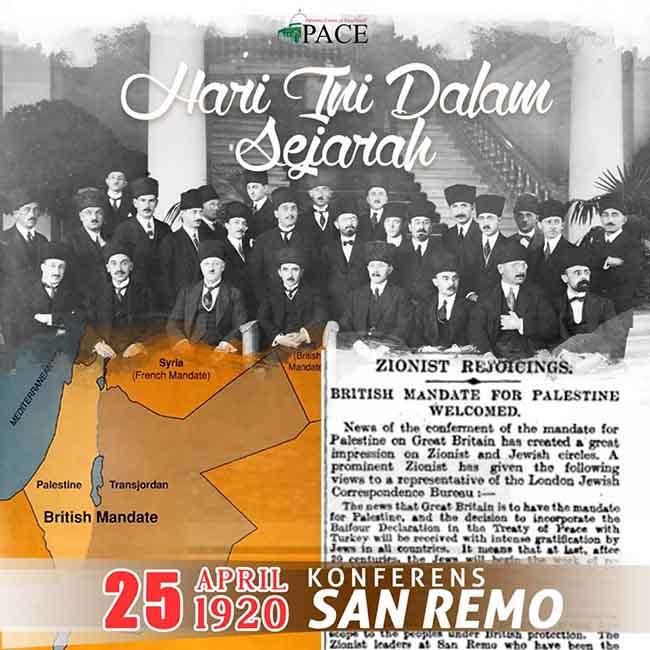 Hari Ini Dalam Sejarah | 25 April 1920 | Konferens San Remo Rangka 'Magna Carta' Israel