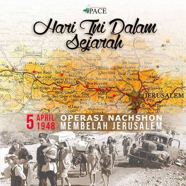Hari Ini Dalam Sejarah | 5 April 1948 | Operasi Nachshon Membelah Jerusalem