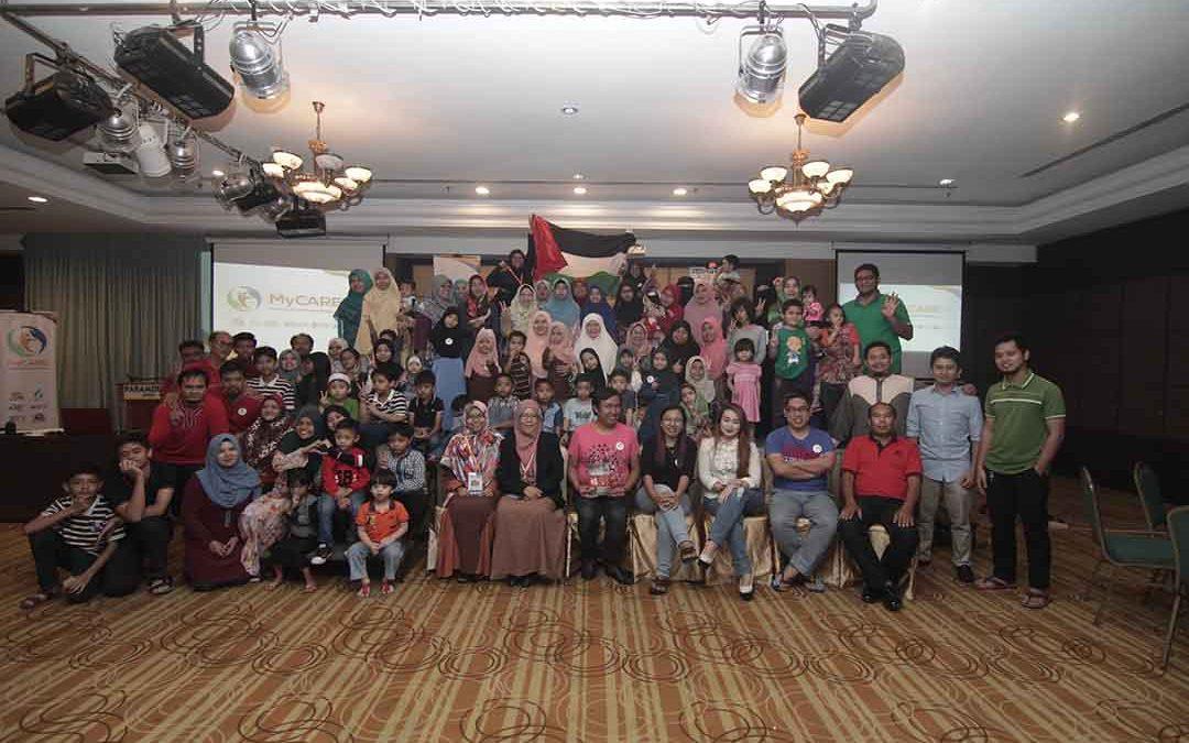 Majlis bersama penaja anak yatim di Sarawak