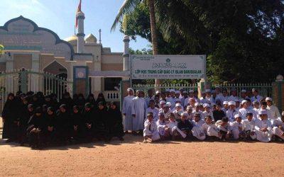 Bantuan pembinaan Madrasah Darussalam Tayninh, Vietnam