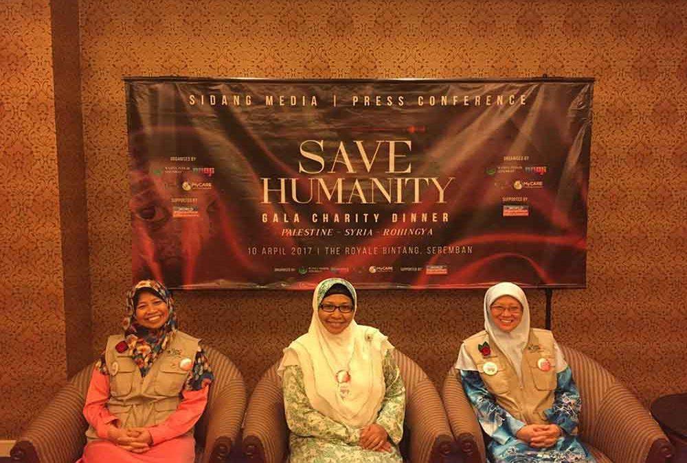 Wanita PERKIM Seremban & MyCARE sasar RM1 juta bagi Save Humanity