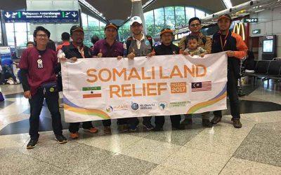 Misi kemanusiaan Somali Land Relief 2017