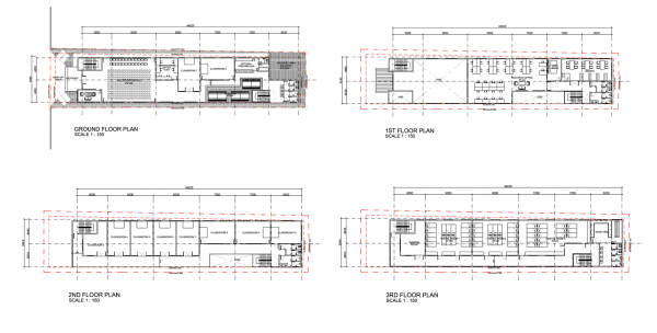 Projek Wakaf Bangunan Fasa 1 Madrasah Darussalam