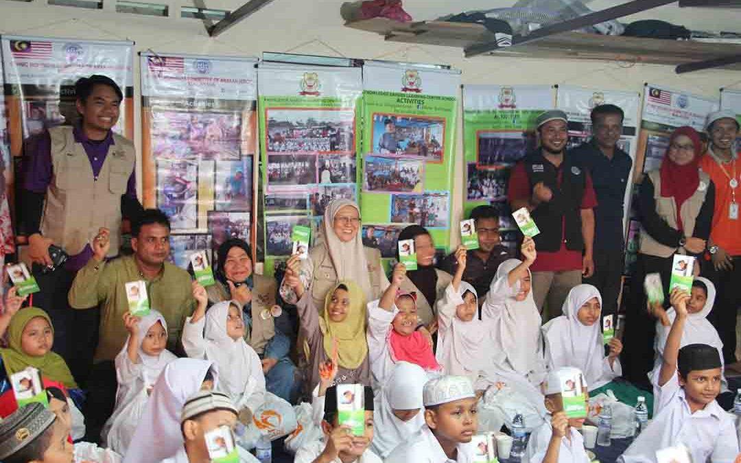 MyCARE rai buka puasa bersama komuniti Rohingya