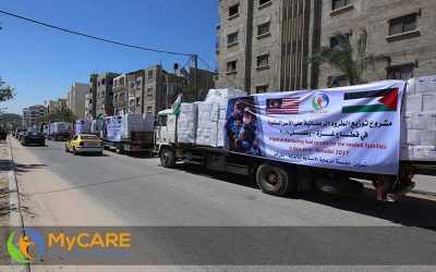 Konvoi kemanusiaan gergasi di Gaza