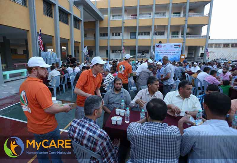 Majlis Iftar Perdana bersama para guru di Gaza