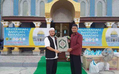 Jaulah Ramadan Satun sampaikan bantuan Ramadan
