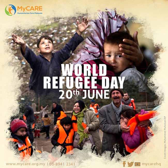 World Refugee Day | 20 Jun