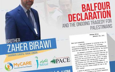 Balfour Declaration & the Ongoing Tragedy for Palestinians