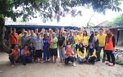 Ernst & Young dan MyCARE hulur bantuan kepada Orang Asli Broga