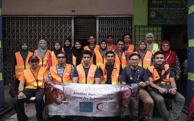 Saringan kesihatan percuma untuk komuniti Rohingya