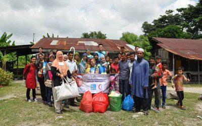 Program saringan kesihatan komuniti Rohingya