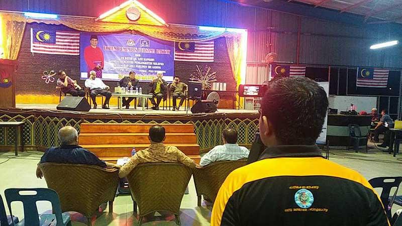 Pendedahan isu Timur Tengah kepada rakyat Johor