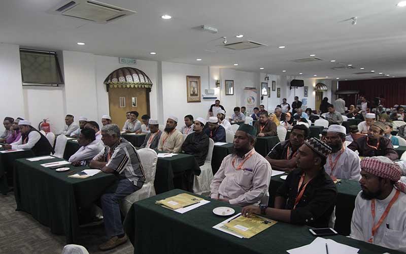 Sesi perkongsian bersama pemimpin komuniti Rohingya