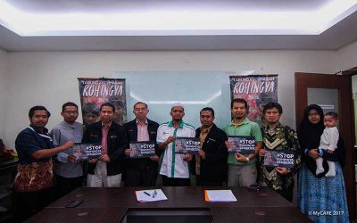 Majlis pelancaran Tabung Kecemasan Rohingya