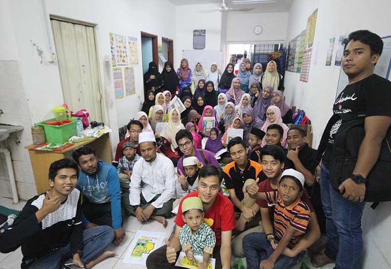 Belia & anak yatim Rohingya