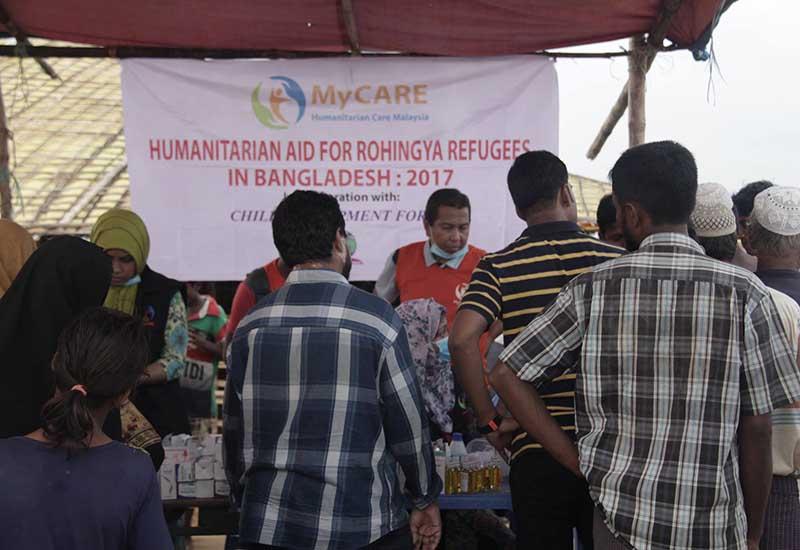 Bantuan perubatan Misi Kemanusiaan Cox's Bazar 2