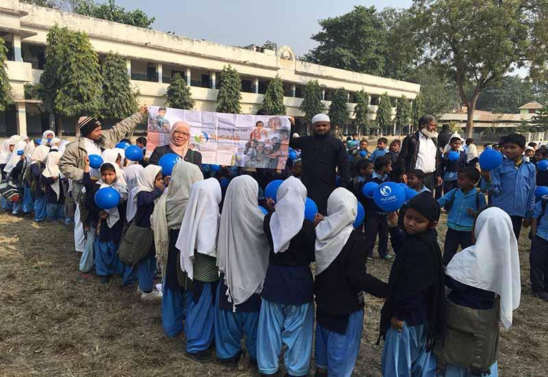 Bantuan kepada asnaf & anak yatim di Nepal