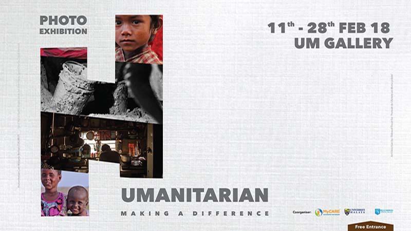 """Pameran Fotografi """"Humanitarian – Making a Difference"""""""