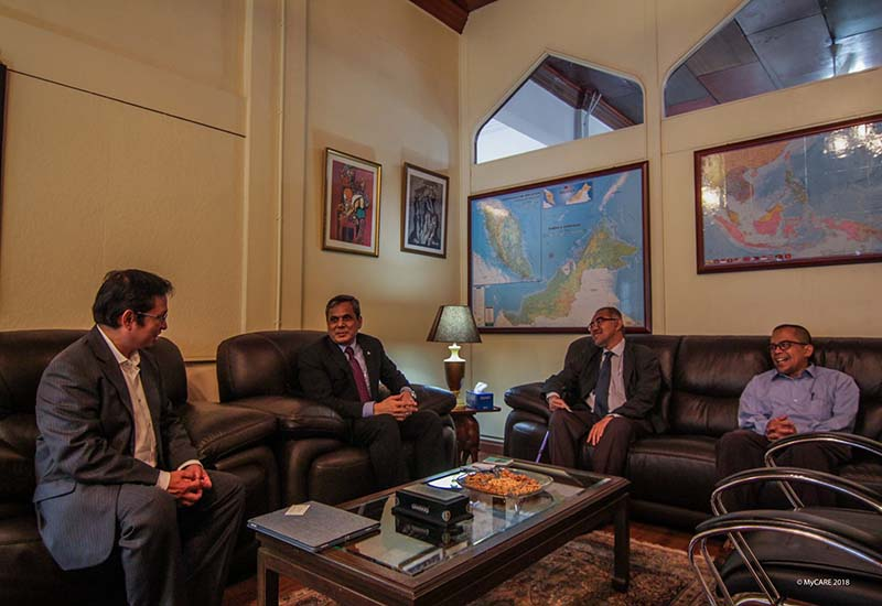 Perkongsian isu kemanusiaan di Kedutaan Pakistan