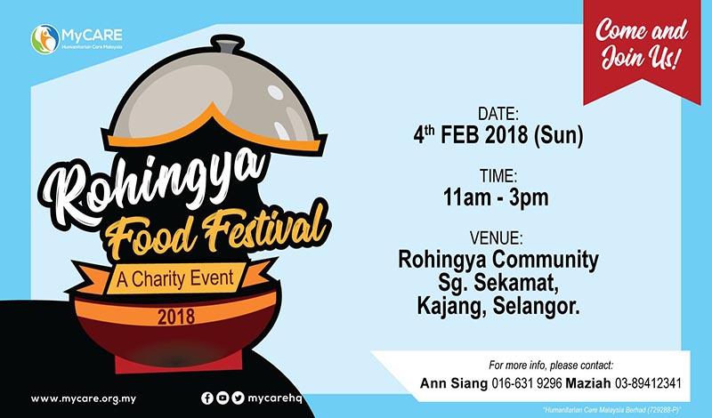 Rohingya Food Festival