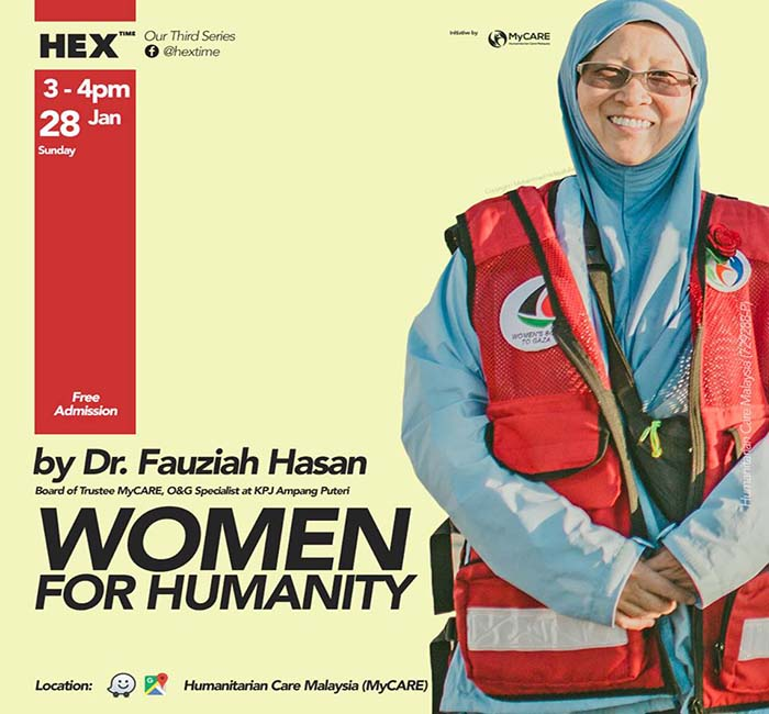 HEX Time 3: Women for Humanity