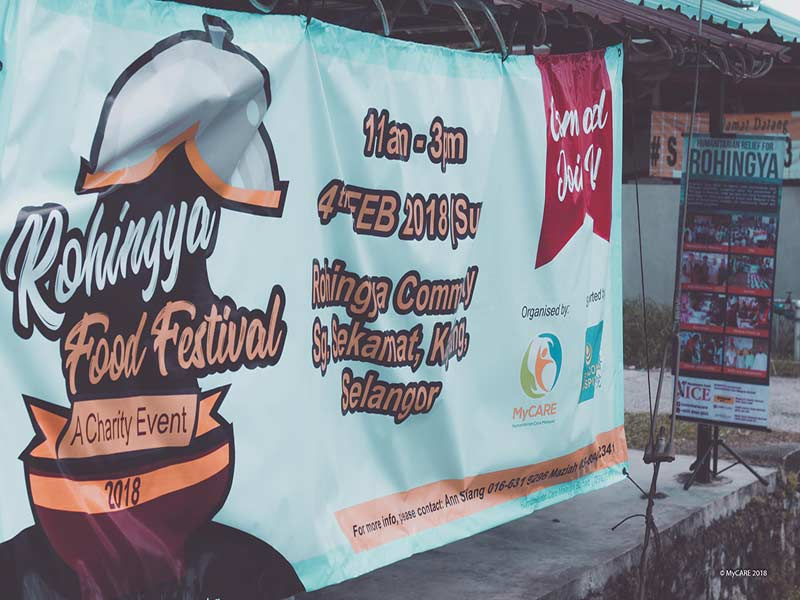 Rohingya Food Festival 2018