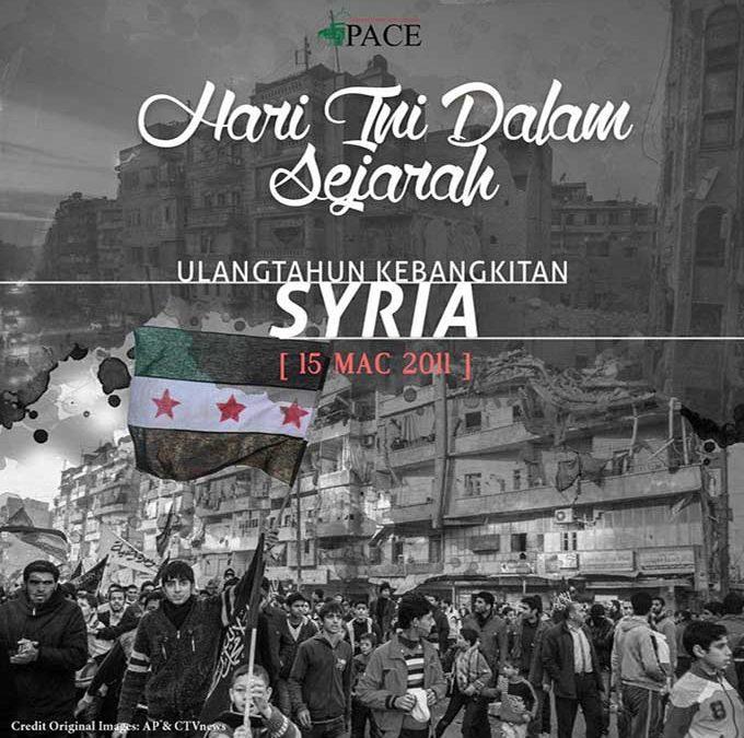 Hari Ini Dalam Sejarah | 15 Mac | Ulangtahun Kebangkitan (Thaurah) Rakyat Syria