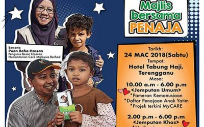Majlis Bersama Penaja anjuran MyCARE di Zon Utara & Zon Timur sempena Bulan Anak Yatim