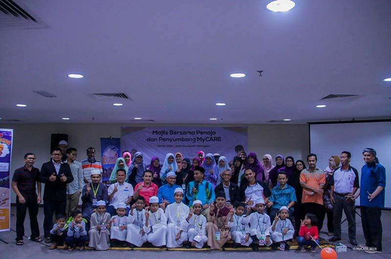 Meraikan penaja anak yatim di Terengganu