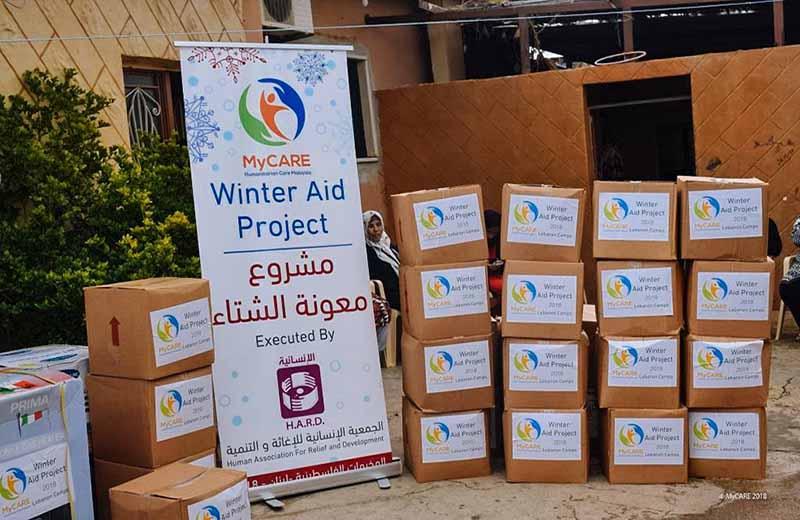 Penyaluran Winter Relief ke kem pelarian Palestin di Lubnan